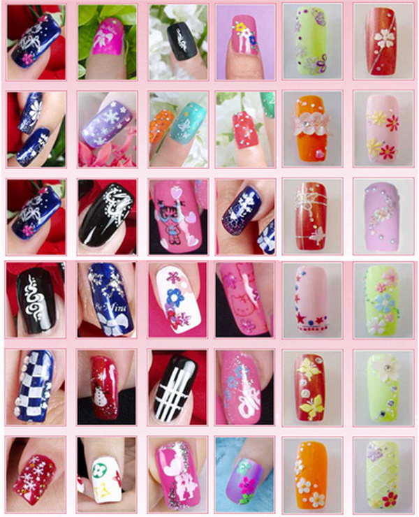 дизайн ногтей. рисунки на ногтях. фото